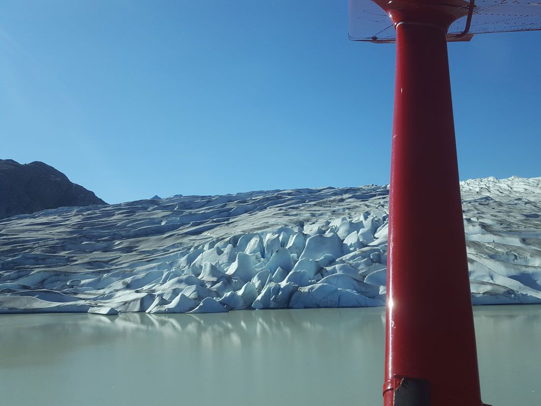 Glacier Sideview